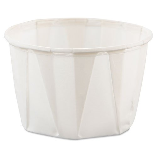 Treated Paper Souffle Portion Cups 2oz White 250/Bag by Reg