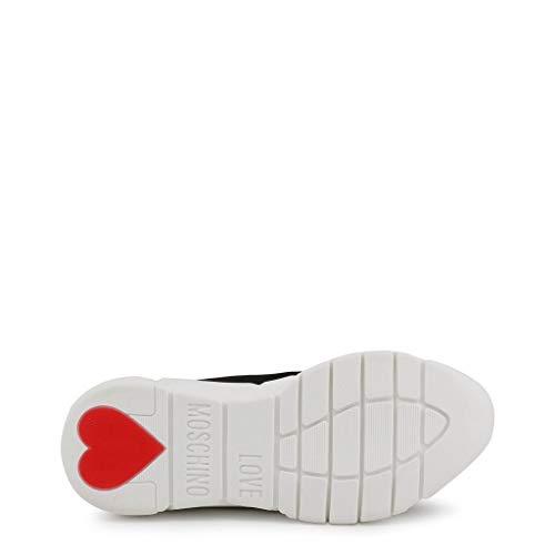 Moschino Sca Calzino Femme running35 Love Noir Baskets Enfiler nod R7pdnwq
