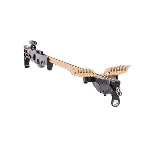 Smart Kingfisher Slingshot Fish Gun Speargun for Fishing, Hunting Spear Gun Multipurpose Shooting Support Arrow Ammo Equipted with Reel Sight Scope by Smart Kingfisher (Image #5)