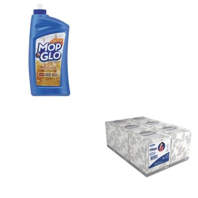 KITKIM21271RAC89333 - Value Kit - Professional MOP amp; GLO Triple Action Floor Cleaner (RAC89333) and KIMBERLY CLARK KLEENEX White Facial Tissue (KIM21271) by Professional MOP amp; GLO (Image #1)