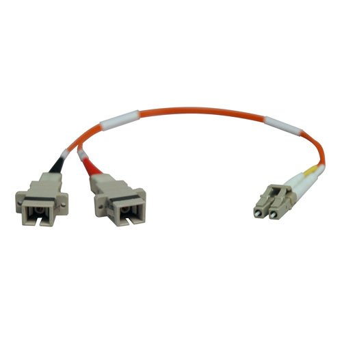 Tripp Lite Duplex Multimode 50/125 Fiber Adapter (LC-SC M/F) 0.3M - 50 001