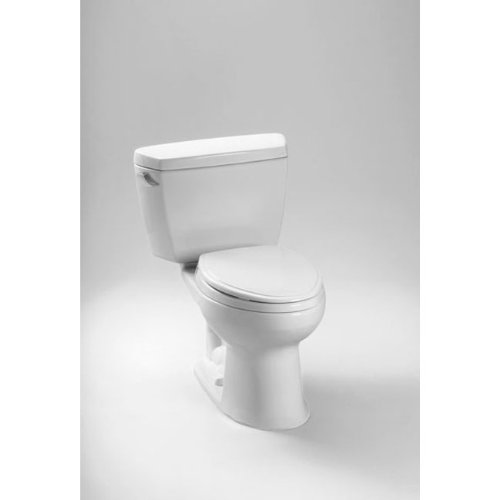 TOTO CST744SDB#12 Eco Drake Elongated Toilet - 1.28 GPF, Sedona Beige
