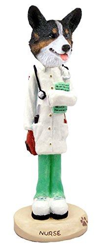 Amazon.com: Corgi galés de chaqueta de punto Enfermera ...
