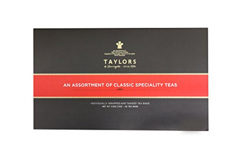 Taylors of Harrogate Classic Tea Variety Gift Box, 48 Count by Taylors of Harrogate (Image #1)