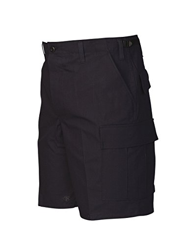 Tru-Spec Shorts, Tru 100% CTTN R/S with Zip Fly, Navy, Large