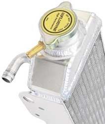 Fluidyne FPS11-6CRF250-L Power-Flo Left Side Radiator for Honda ()