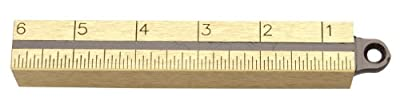 Lufkin 58712 20-Ounce Plumb Bob, Solid Brass Outage