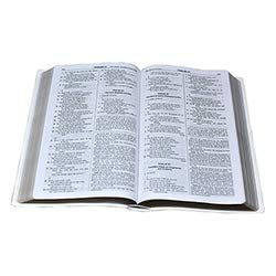US Gifts St. Joseph New American Bible (NABRE) Gift & Award Edition - White