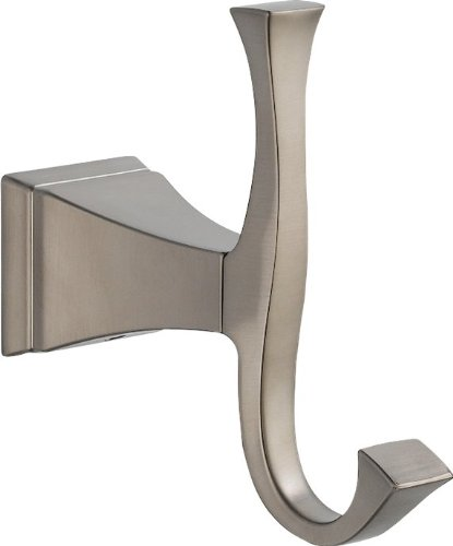Ring Stainless Towel Delta Steel (Delta 75135-SS Dryden Robe Hook, Stainless)