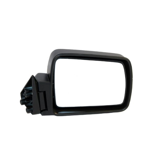1986 1992 Jeep (1984-1996 Jeep Cherokee, 1984-1990 Wagoneer, 1987-1992 Comanche Pickup Truck Manual Without Remote Cable Black Folding Rear View Mirror Right Passenger Side (1984 84 1985 85 1986 86 1987 87 1988 88 1989 89 1990 90 1991 91 1992 92 1993 93 1994 94 1995 95 1996 96))