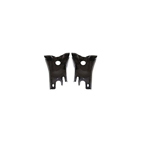 Bumper Bracket compatible with Nissan D21 93-94 Front Right and Left Side Set of 2 Steel