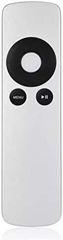 Color: White Calvas Original Replaced Remote Control fit for Apple TV 1 2 3 MC377LL//A MD199LL//A MacBook Pro