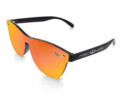 Effet soleil modèle de orange LUXOR Lunette miroir ® MOSCA NEGRA Cq0PpSwx