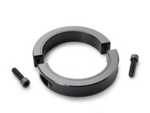 Ruland Manufacturing Co Inc SPH-59-F - Shaft Collar - SPH Series, Two Piece - Clamp Heavy Duty, Steel - 1215 or A519 Hot Finished 1026 Carbon, Plain Bore, 3.6875 in ID, 5.5000 in OD, 1.375