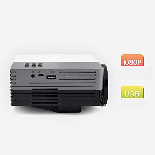 Qucking Light Proyector Led, Proyector De Casa GM50 HD Mini ...
