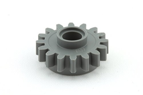 Gear 16 Tooth (Lego Parts: Technic, Gear 16 Tooth with Clutch - Smooth (DBGray))