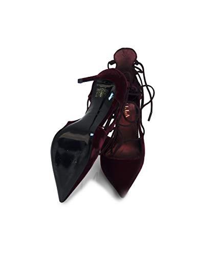 Escarpins pour Rouge Lesilla Prugna Rosso No Femme UdwgvqFvxp