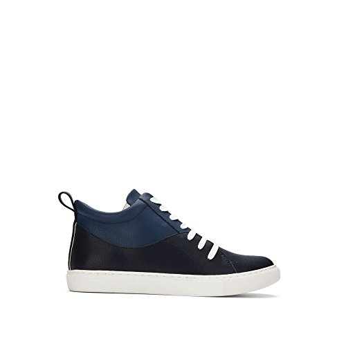 Kenneth Cole New York Kc Gemenskap Kvinna Hög-top Sneaker - Womens Navy