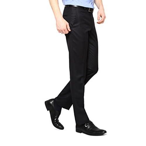 31rRQVdapnL. SS500  - AD & AV Mens Formal Trouser 220_BALENO_Black_BB