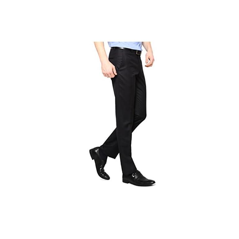 31rRQVdapnL. SS768  - AD & AV Men's Regular Fit Formal Trousers