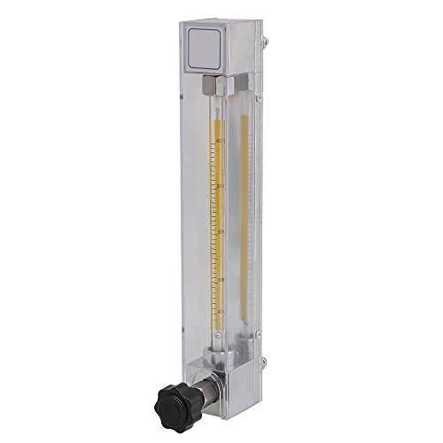 Mxfans LZB-4 Acrylic Air Gas Oxygen Flow Meter 40-400LPH Flow Measure Control by Mxfans