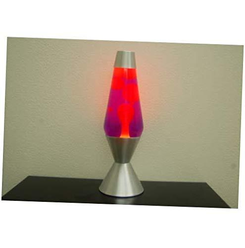 Bulb 16.3 inch 52oz Lava Brand Motion Lamp Purple Liquid Yellow Wax