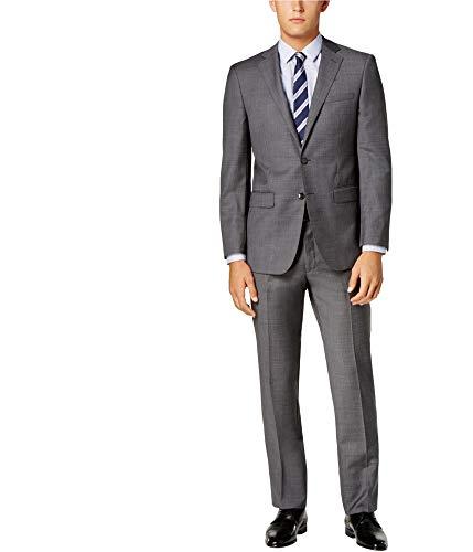 Calvin Klein Mens Extra Slim Tuxedo Grey 46/Unfinished