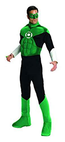 Green Lantern Deluxe Costume, Green, X-Large]()