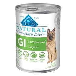 BLUE Natural Veterinary Diet GI Gastrointestinal Support For Dogs, 12.5Oz.Can, Pack of 12 by Blue Buffalo