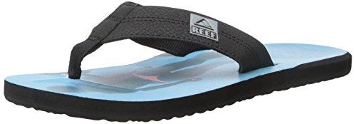 buy cheap shop Reef Men's HT Prints Sandal Black/Blue/Pink cheap real finishline sast sale online quality outlet store cheap USA stockist hVYiBPCvX