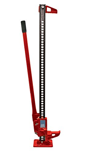 GHP 6''-48'' Lift 6600Lbs Capacity Steel Off-Road Lifting Pulling Spreading Farm Jack by Globe House Products