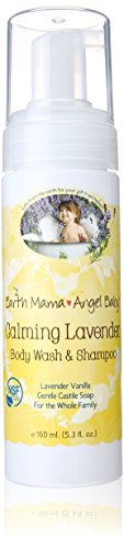 Earth Mama Angel Baby Calming Lavender Shampoo and Body Wash, 1er Pack (1 x 160 ml)