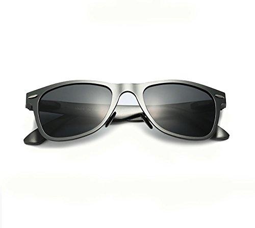 Gris Noir VEITHDIA Lunettes Noir de soleil Homme Wg484q7f
