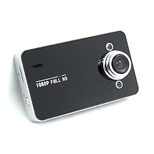 "K6000 HD 1080P Vehicle Blackbox DVR Camcorder Car Camera with 2.4"" TFT LCD Screen for Car , Black"