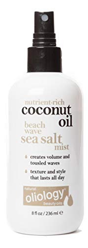 Oliology Coconut Oil Beach Wave Sea Salt Mist Spray, 8 Oz.