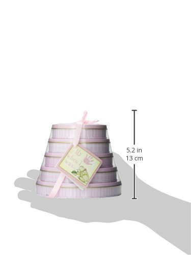 Child to Cherish Handprints Tower Of Time Kit in Pink by Child to Cherish (Image #4)