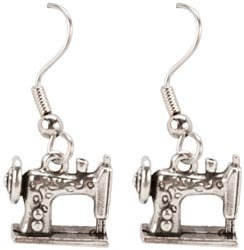 Cedar Creek Quilt Designs Charming Accents French Wire Earrings-Sewing -