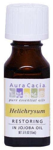 Aura Cacia Restoring Helichrysum Essential Oil, 0.5 Ounce