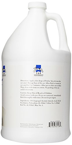 Top Performance ProEar Professional Medicated Ear Cleaners — Versatile and Effective Solution for Cleaning Dog and Cat Ears, Gallon by Top Performance (Image #3)