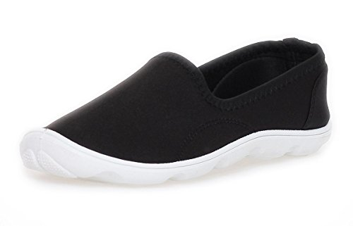 A.E. Women's Loafer Flats Black - Black