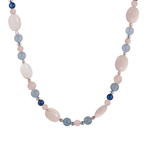 Carolyn Pollack Sterling Silver & Shades of Sunrise Beach 32 Inch Beaded Necklace by Carolyn Pollack