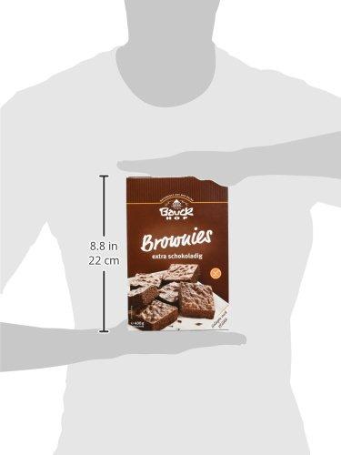 Bauckhof Brownies Glutenfrei 3er Pack 3 X 400 G Bio Amazon De