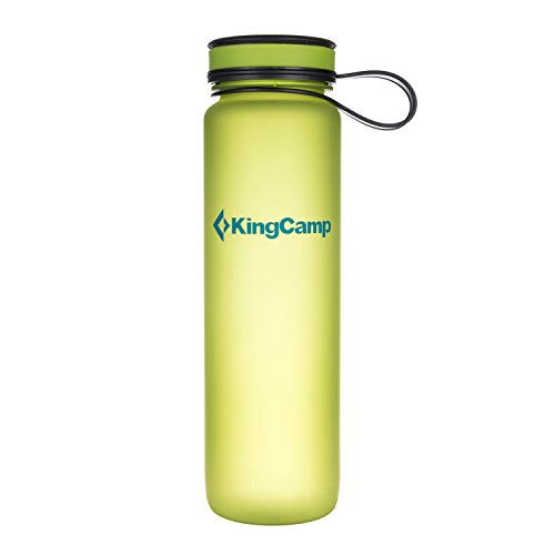 Tonny Rank #377 KingCamp TRITAN 1000 ml / 33.8 fl.oz Wide Mouth Green Outdoor Water Bottles