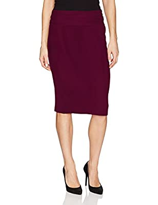 Norma Kamali Women's Straight Skirt