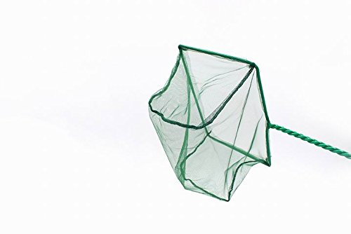 - cOkO New 7-Inch Aquarium Fish Net Nylon Supplies Cleaner (Green)