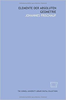 Book Elemente der absoluten Geometrie