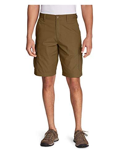 Eddie Bauer Men's Versatrex Cargo Shorts, Aged Brass Regular 32