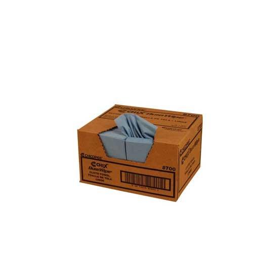 Durawipe Smooth Cloth Towel Blue 12x13.5-400 sheets per ()