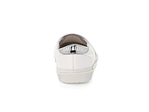 Femme Bkw101450 Tissu Blanc Baskets Bikkembergs dXgxzHX