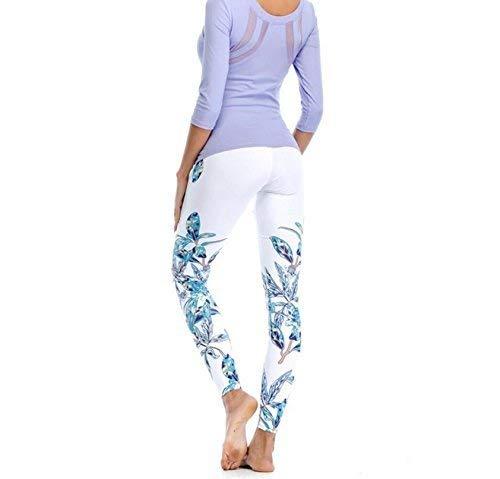 Yoga De Medias Imprimir Leggings Al Pantalones Patrón Targogo Cintura Mediados Elástico Senderismo Mujeres 2 Lápiz Fitness Libre Aire ZWXnnxv7q8